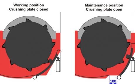 Kőleválasztó - MOTY KE 3000 M tökmagbetakarító gép