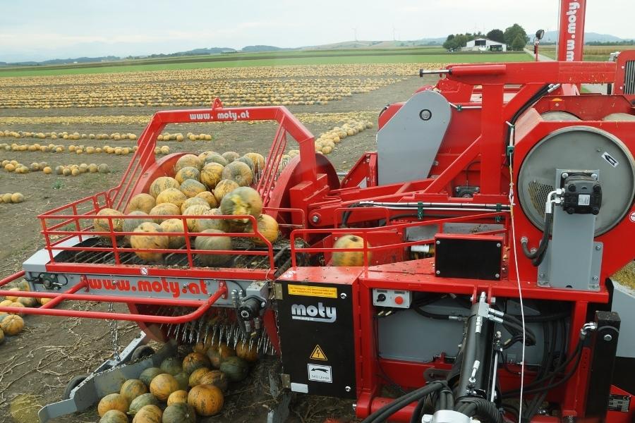 Ke 3000 Mechanic Pumpkin Seed Harvester Moty Gmbh