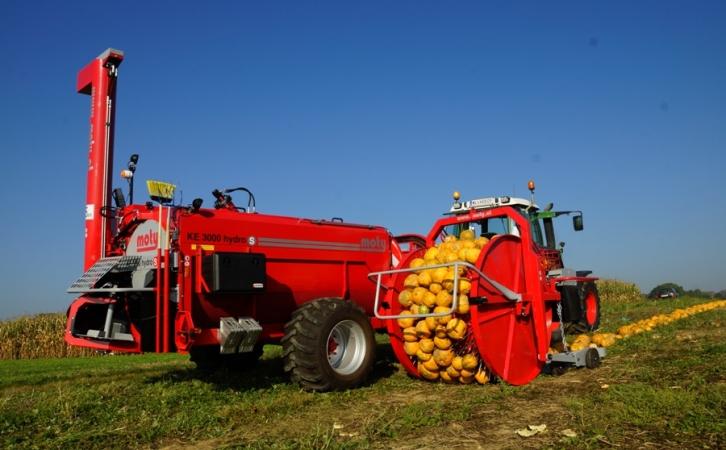 KE 3000 hydro S machines de récolte pour pépins de citrouilles